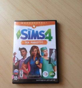 Продам Sims 4 оригинальное дополнение