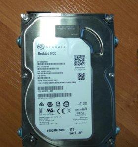 Оперативная память ddr3 8gb, жесткий диск 1tb