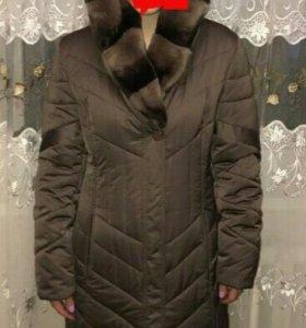 Шикарная Зимняя куртка (кролик)