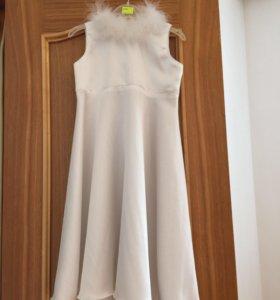 Платье снижинка