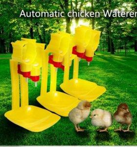 Ниппельные поилки для кур, перепелов, цыплят N2