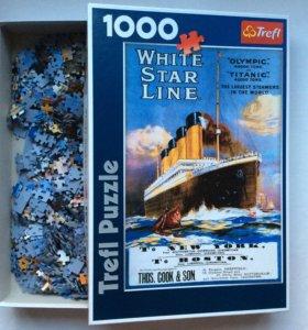 Пазлы Trefl, 1000 шт, Титаник