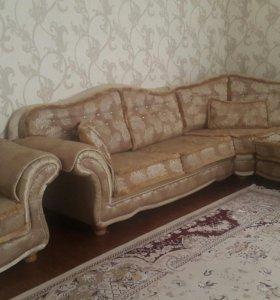 Холл (диван)и кресло