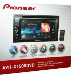 Магнитола Pioner AVH-X1500DVD