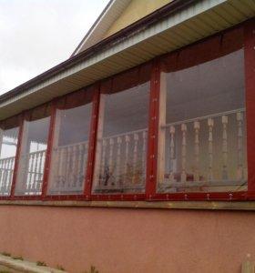 Мягкие окна. Изготовление монтаж.