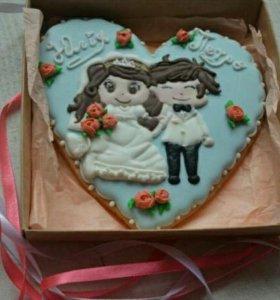 Подарок на свадьбу жениху и невесте или гостям!