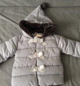 Куртка утепленная!