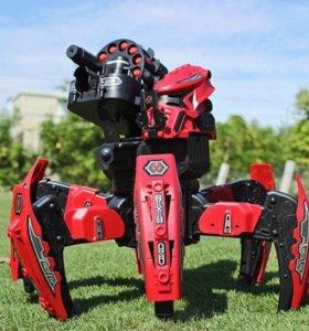 Стреляющий робот паук