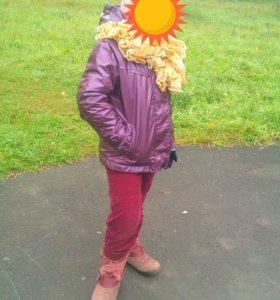 Курточка осенняя на флисе