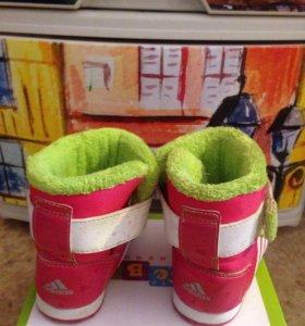 Холодная осень/весна ботинки