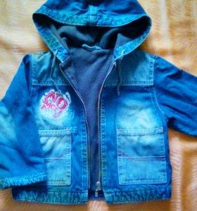 Джинсовая курточка (весна-осень)