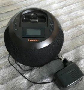 Портативные колонки Lenсо IPD-4600