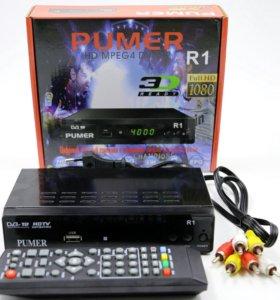 Цифровая приставка DVB-T2 PUMER