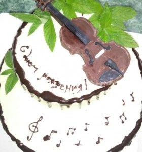 Домашние тортики.
