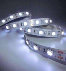 LED лента белая