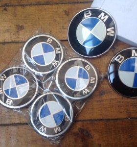 Значки на диски БМВ BMW