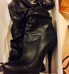 Женские сапоги ботильоны ботинки демисезонные