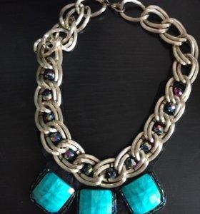 Объемное ожерелье