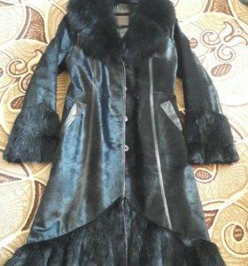 Пальто из натурального меха