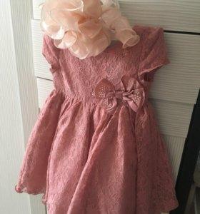 Платье+бант