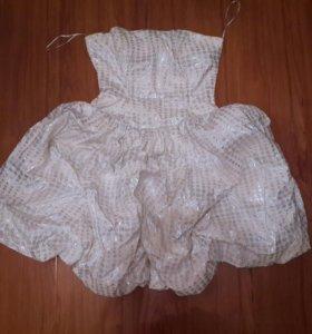 Платье безе