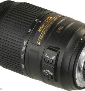 Объектив NIKON 55-300mm новый f4.5-5.6 AF-S DX VR