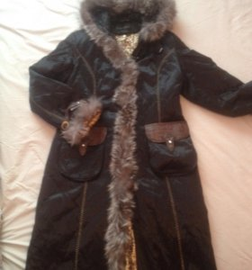 Пехора (шуба наоборот) пальто