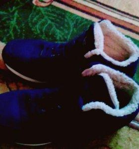 Кроссовки с мехом торг