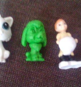 3 игрушки из Киндер