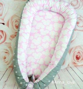 Гнездышко кокон для новорожденных