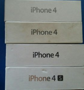 Коробки от айфонов