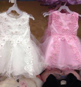 Платья детские новые