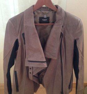 Кожаная куртка , размер 44-46