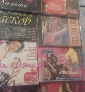 Диски МР3 и DVD