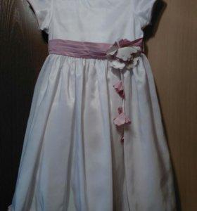 Платье на 3-5 л