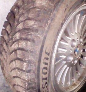 Шипованные колеса на бмв
