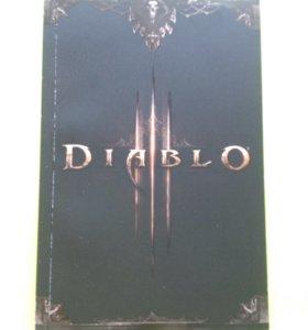 Коллекционный блокнот Diablo