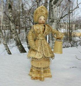 Куклы из соломки