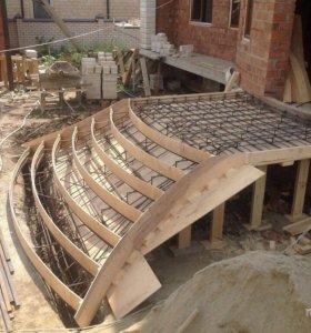 Изготовление монолитных и железных лестниц