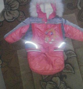Костюм зимний детский(от 0 до 2 лет)