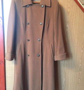 Пальто кашемировое(б/у)