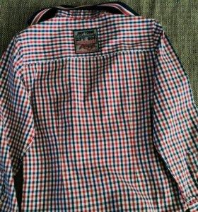 Рубашка для мальчика. 128 рост.