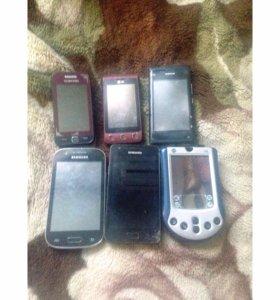 Телефоны и фотоаппараты на запчасти