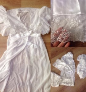 Новый домашний костюм ( пижама + пеньюар)