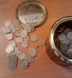 Значки и монеты ссср