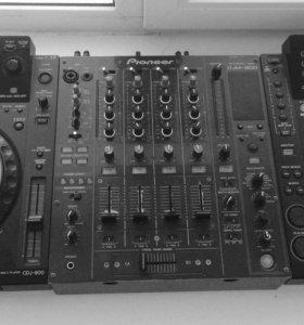 Pioneer cdj900 x2 / djm800