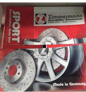 Диски тормозные BMW X5 E70 Zimmermann