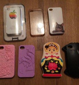 Чехлы на айфон 4, 4S