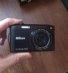 Фотоаппарат Nikon COLPIX S3300