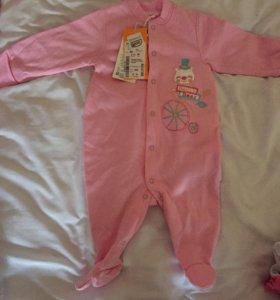 Новые вещи для малышек от рождения